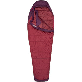 Marmot W's Trestles Elite 20 Sleeping Bag Regular Madder Red/Dark Purple